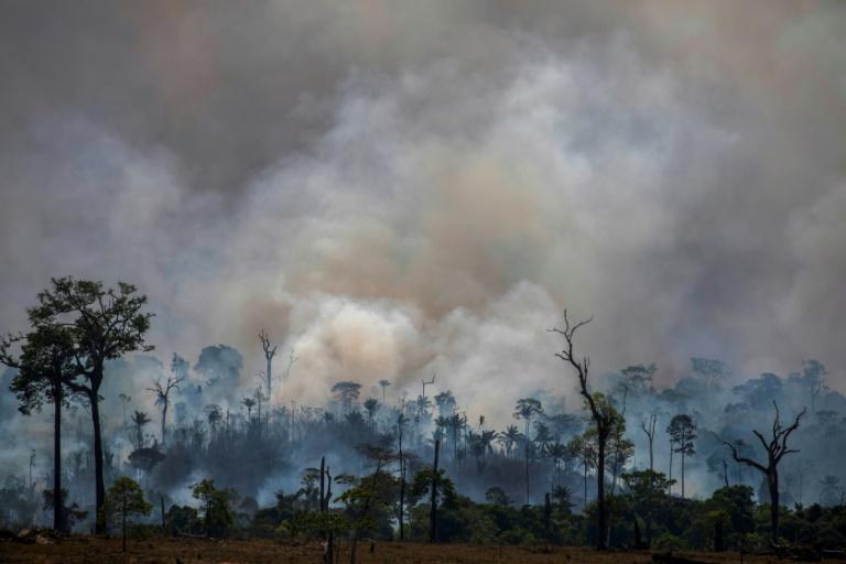Incêndio no Pará (Brasil) em 27 de agosto de 2019