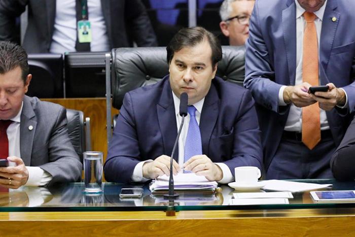 O presidente da Câmara negou que a Casa tivesse esvaziada na segunda-feira (2)