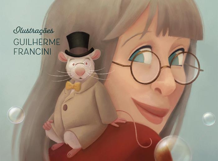 Ilustração retrata Rita Lee e o seu personagem Dr. Alex
