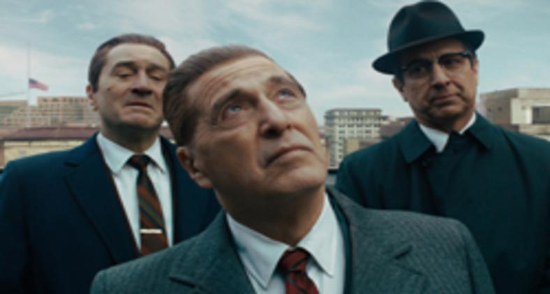 'O irlandês' vem se juntar a 'Os bons companheiros' e 'Cassino' para formar não uma trilogia, mas um tríptico (Divulgação)
