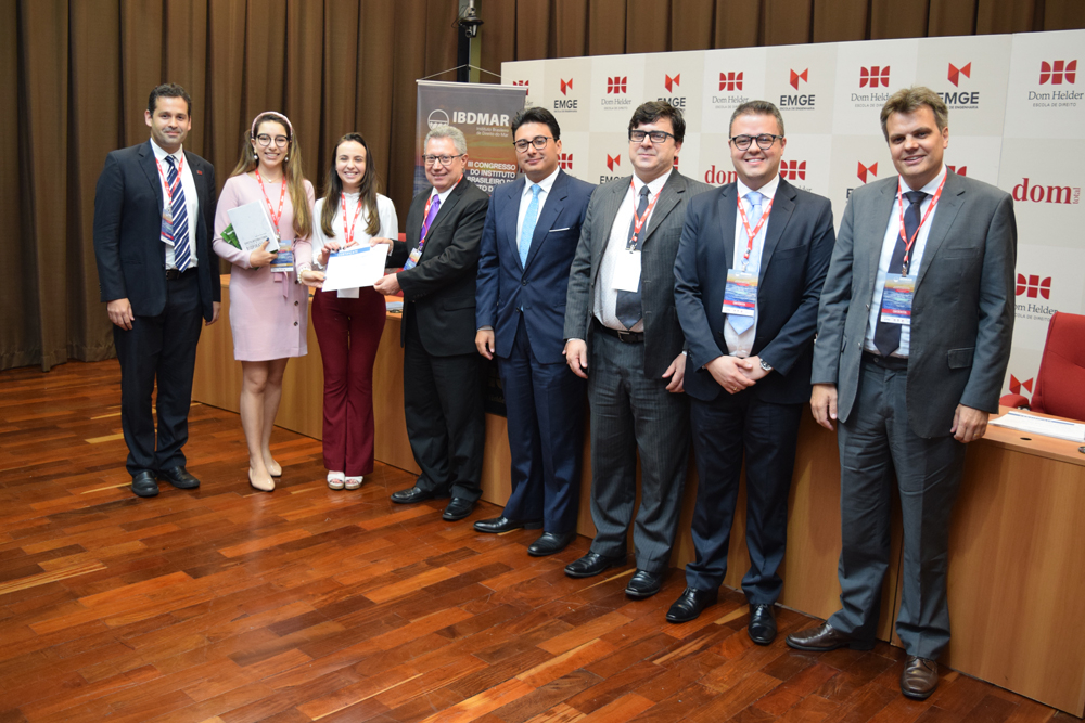 A Dom Helder conquistou o primeiro lugar no simulado internacional do Direito do Mar, organizado pela IBDMAR
