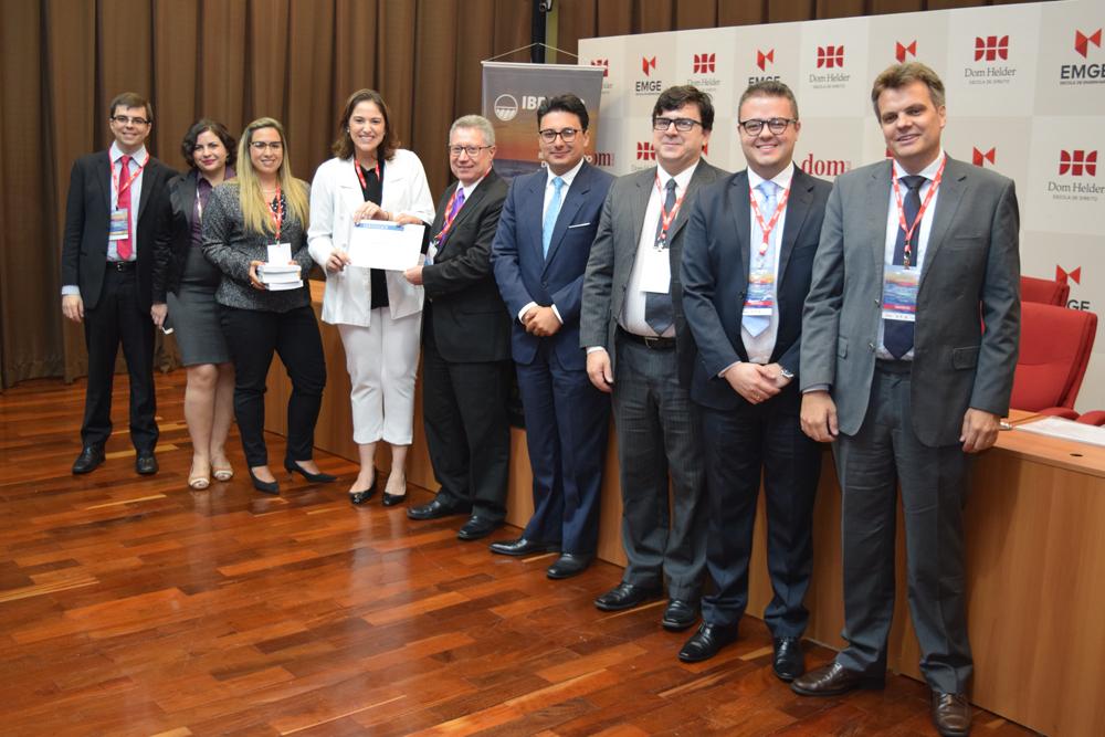 Premiação no simulado internacional