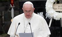 O papa disse várias vezes: 'falo através dos bispos da Venezuela' (Remo Casilli/Reuters)