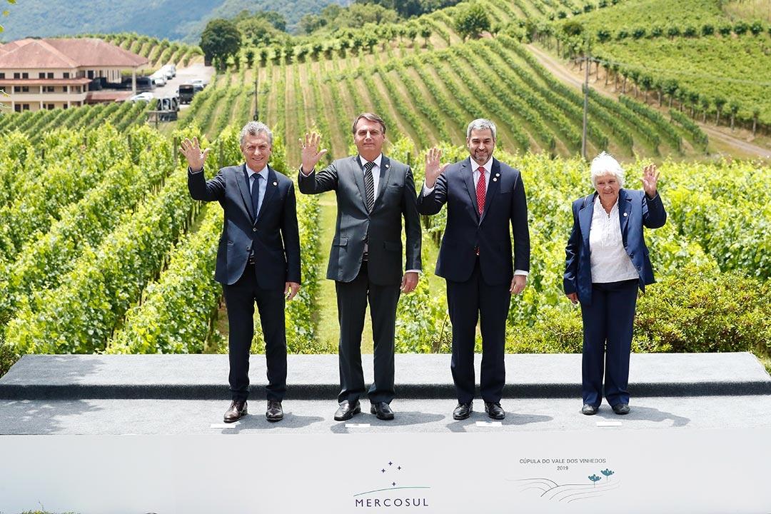 Em seu discurso de despedida do Mercosul, Macri declarou que a Argentina tem um