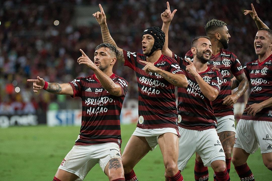 Flamengo chegou aos 90 pontos