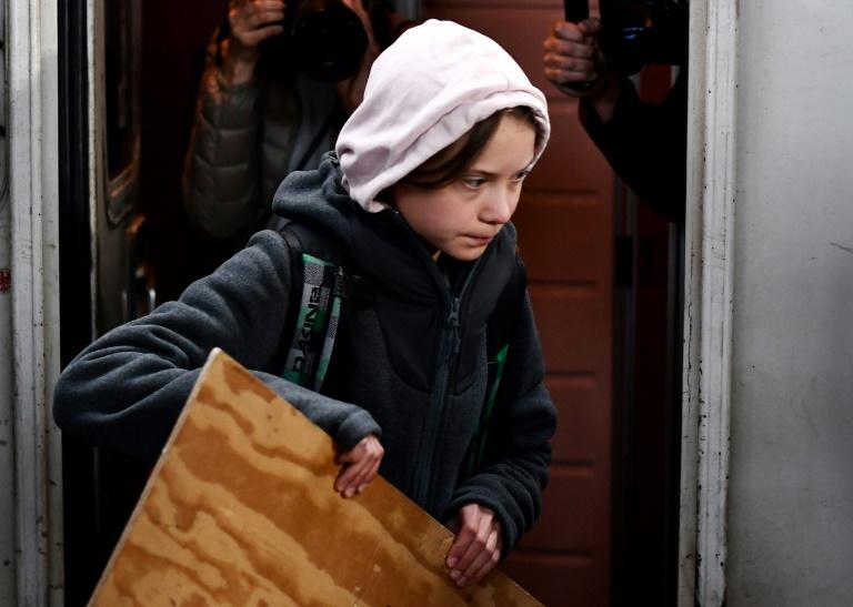 Greta Thunberg chega em Madri para marcha do clima