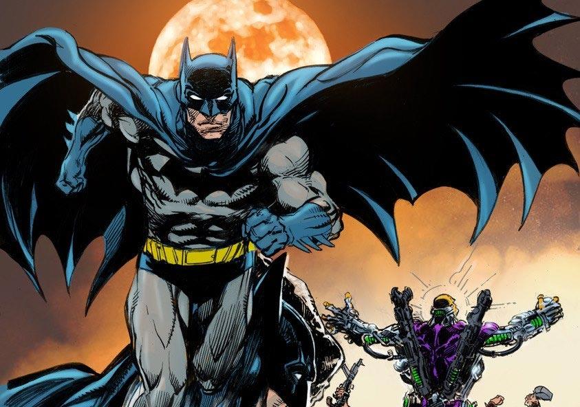 Obra de Neal Adams, artista de 78 anos que ajudou a revitalizar o Batman na década de 1970
