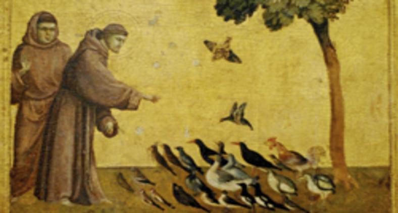 Obra de Giotto retrata o santo italiano em atividades mundanas carregadas de divindade (Divulgação)