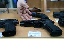 Com 420 bilhões de dólares, o volume de negócios dos cem principais fabricantes de armas do mundo, analisados no estudo, está em pleno crescimento (AFP)