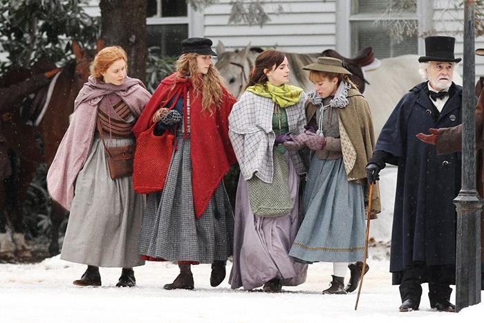 O filme de abertura é 'Adoráveis Mulheres', de Louisa May Alcott, 'Mulherzinhas'