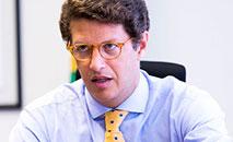 Salles também voltou a falar de uma agenda da bioeconomia efetiva (Gilberto Soares/MMA)