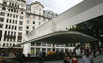 Fachada da Galeria Prestes Maia, inaugurada em 1940 (Divulgação)