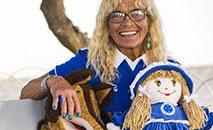 Aos 86 anos, Salomé era sempre garantida nos jogos da Raposa no Mineirão (Bruno Sales/Cruzeiro)