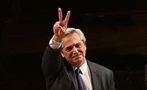Fernández fará seu juramento como presidente ante o congresso a partir das 11h (Pedro Pardo / AFP)