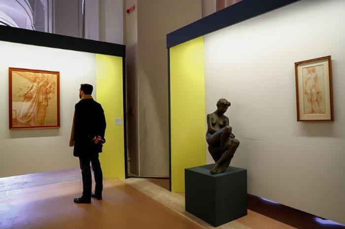 150 gravuras e outros tipos de arte gráfica do século 20 estão sendo expostas à luz do dia