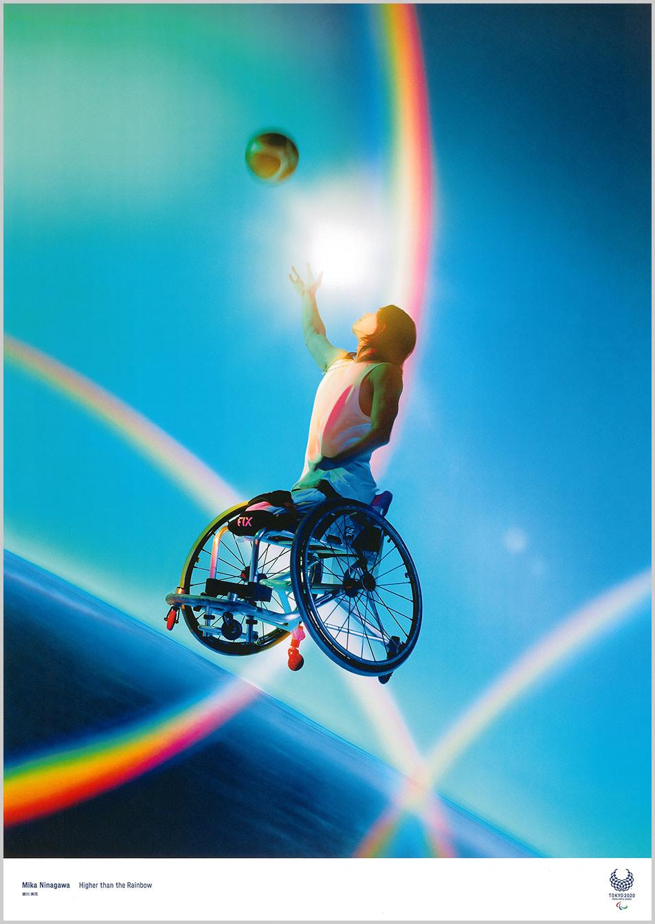 Mika Ninagawa (Fotógrafo / Diretor de cinema) Cartazes oficiais para os Jogos Olímpicos Tóquio 2020
