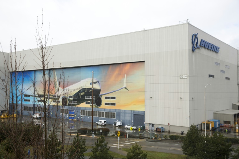 Fábrica da Boeing nos Estados Unidos: descrédito cresce