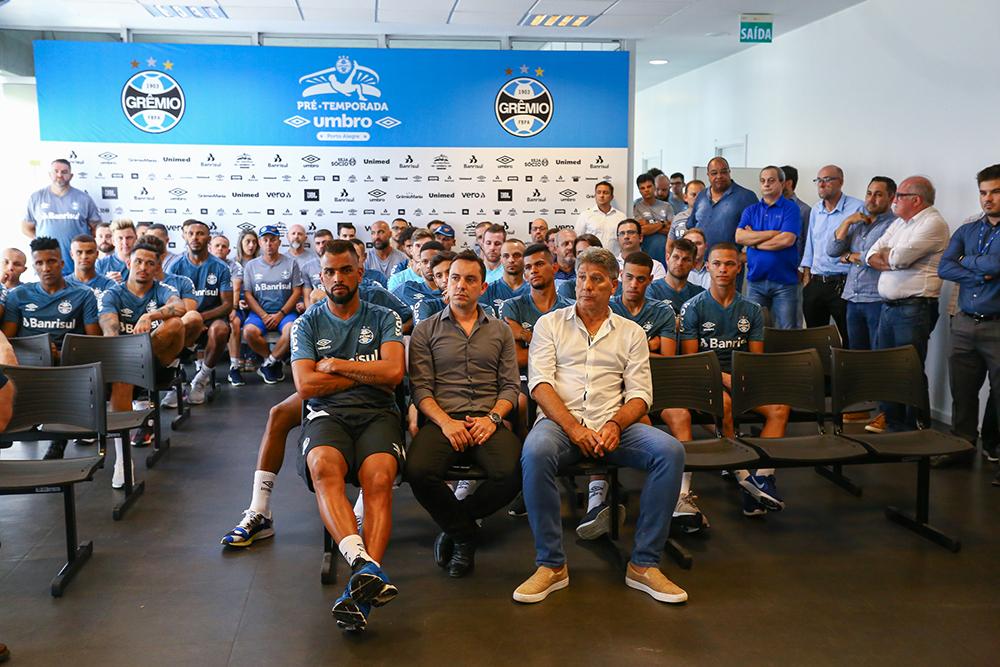 Elenco Gremio se reapresente no CT Luiz Carvalho para a temporada 2020