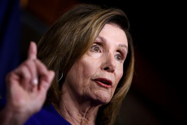 A presidenta da Câmara dos Representantes dos Estados Unidos, Nancy Pelosi
