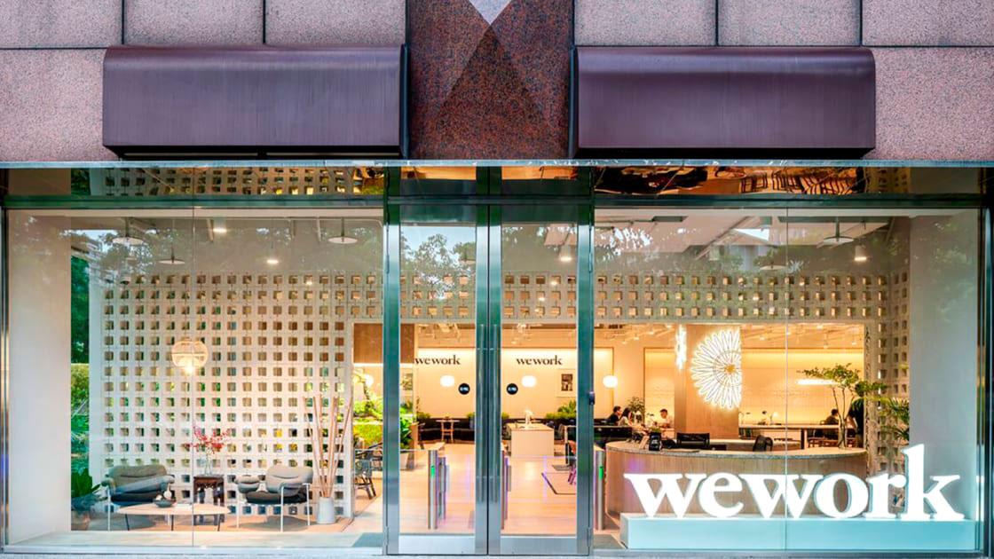 Escritório da WeWork em Taipei, em Taiwan