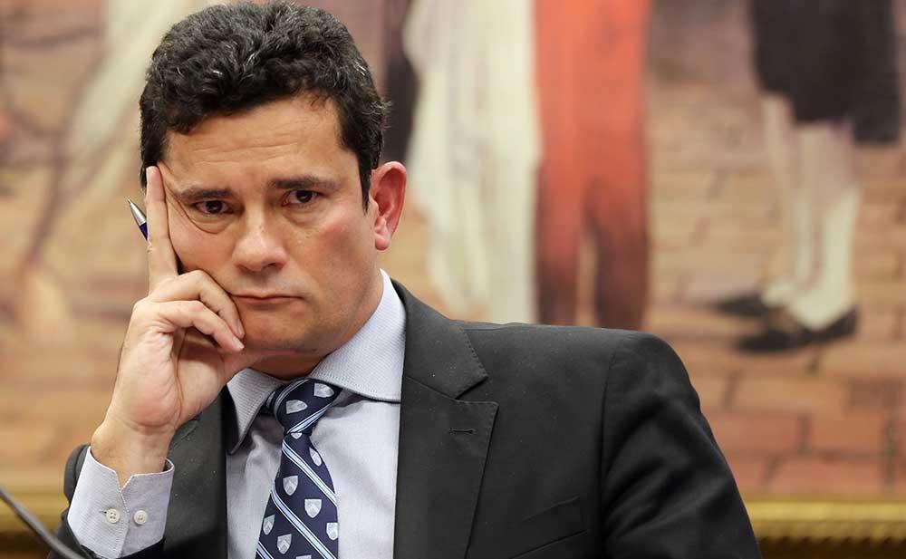 O ministro da Justiça Sergio Moro busca aprofundar parceria com o Congresso