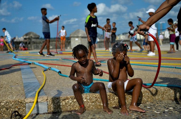 (Arquivo) A ilha de Cuba é particularmente vulnerável às mudanças climáticas