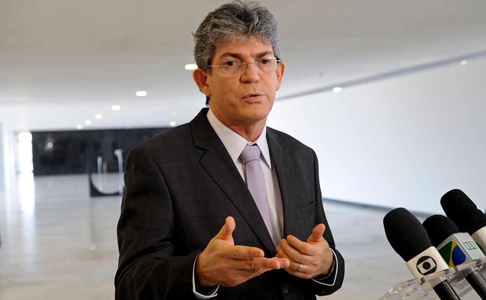 Ex-governador Ricardo Coutinho chegou  a ser preso, mas foi solto dois dias depois por ordem do STJ