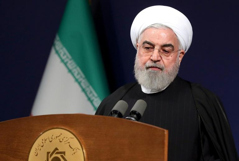 Hassan Rohani discursa em Teerã