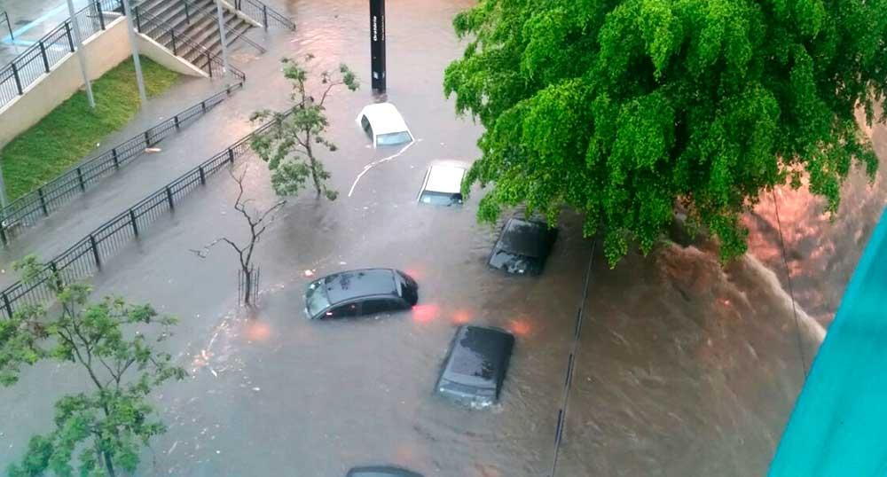 A projeção é que as chuvas mais intensas deverão começar a cair nesta quarta-feira (22) e podem prosseguir até o final de semana.