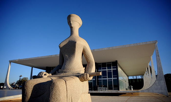 Fachada do Supremo Tribunal Federal (STF) em Brasília