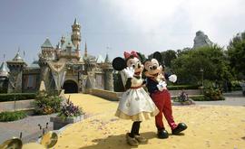 Disneylândia: o parque é um dos mais populares da Califórnia (AFP)