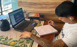 Renatinho, do CSA, se dedica a temas como investimentos e lições com um coach durante a pandemia (Arquivo Pessoal/Renatinho)