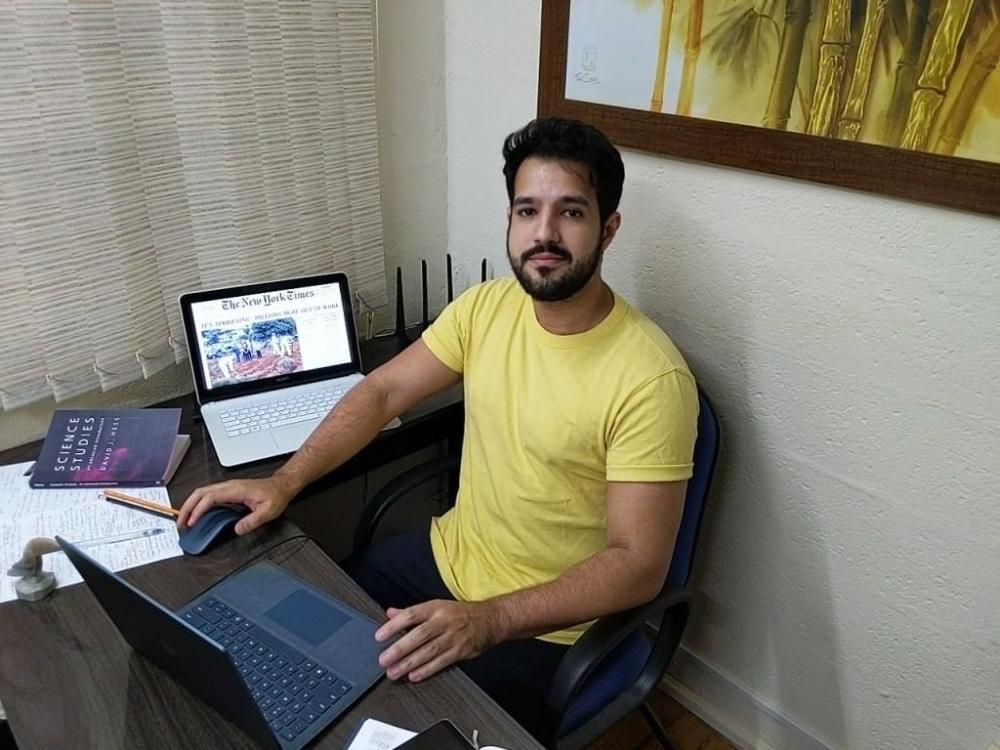 Resultados preliminares do estudo foram apresentados por Renan Leonel (foto), pesquisador na Faculdade de Medicina da USP