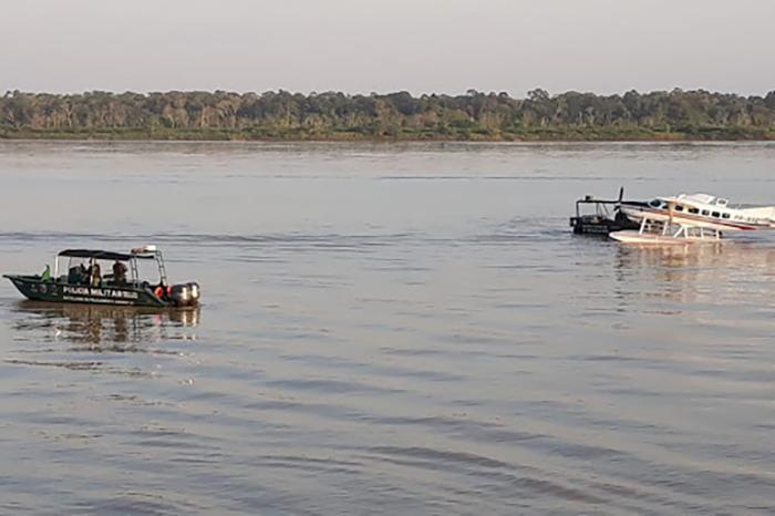 Ação policial no Rio Abacaxis