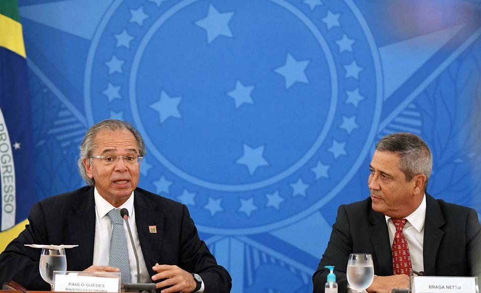 Luiz Eduardo Ramos deve passar a integrar a Junta de Execução Orçamentária (JEO), que é hoje formada apenas pelos ministros da Economia, Paulo Guedes, e da Casa Civil, Walter Braga Neto