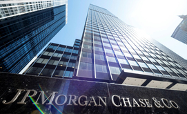 Sede do JPMorgan Chase & Co em Nova York, Estados Unidos (Johannes Eisele/AFP)