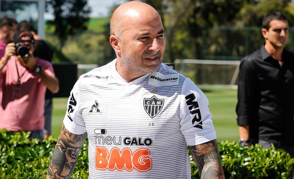 O argentino Jorge Sampaoli é técnico do Atlético Mineiro