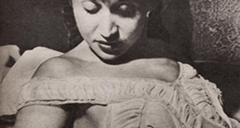 A vedete brasileira Luz del Fuego em 1945 (Jean Manzon/ Wikimedia)