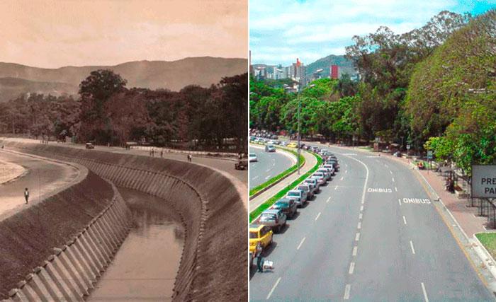 Ribeirão Arrudas, também canalizado e com parte de seu curso tamponado, é um dos principais córregos que cortam a cidade