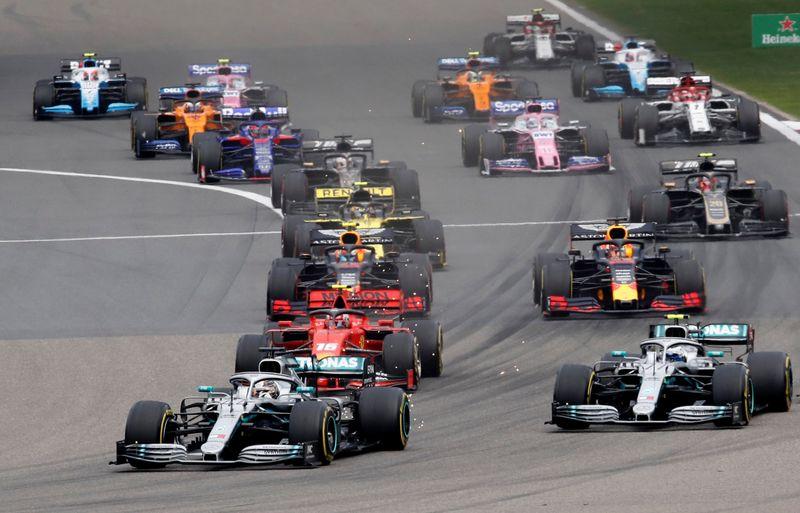F1-CHINA-DUVIDA:Xangai coloca GP da China de F1 em dúvida ao suspender eventos esportivos