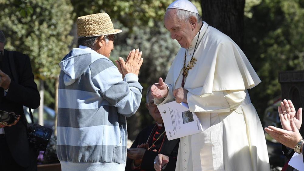 Em cerimônia nos Jardins Vaticanos, papa abriu