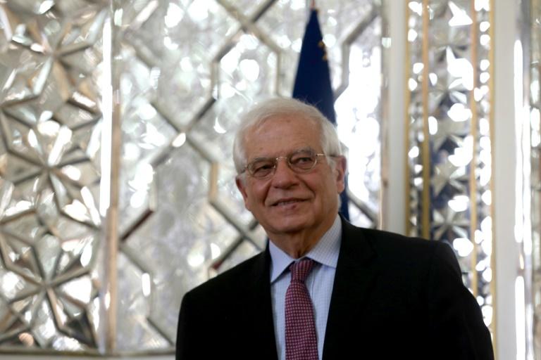 (Arquivo) O chefe da diplomacia europeia, Josep Borrell