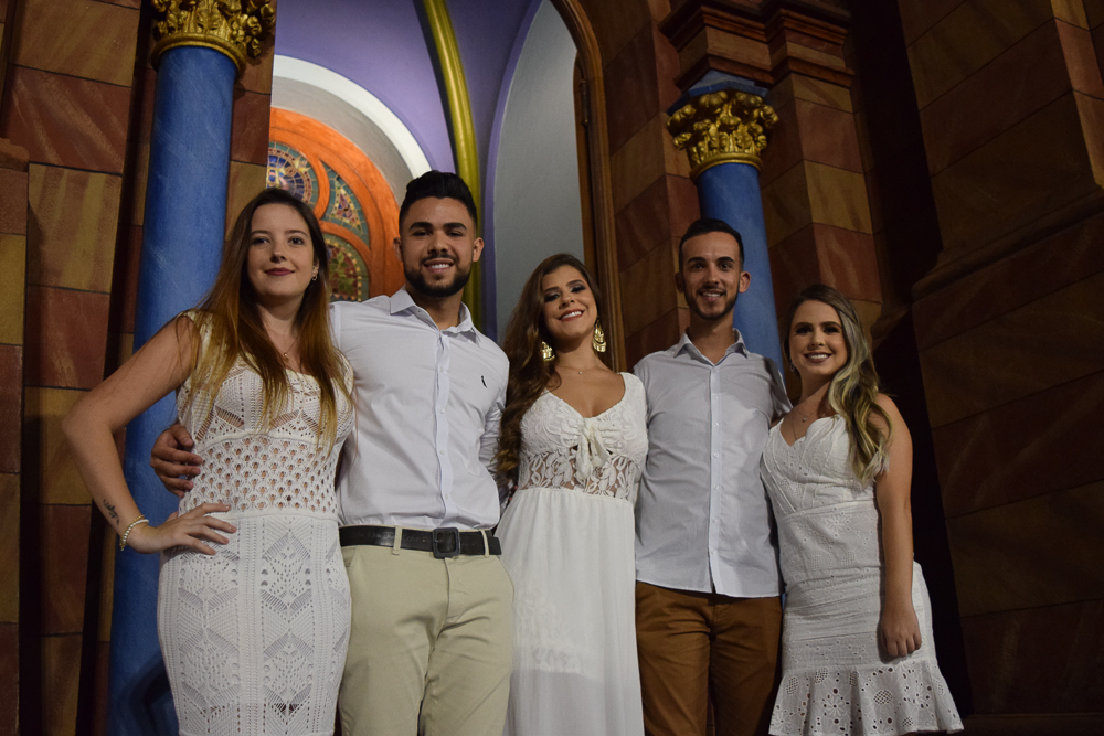 Formandos na missa solene na Igreja São José