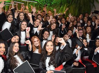 Mensagem entregue aos formandos da Dom Helder Escola de Direito (Bárbara Teixeira/NECOM)