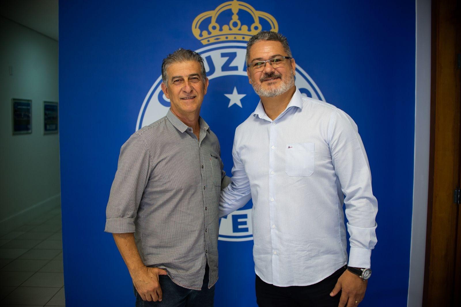 Rogério Micale (à dir) e Ricardo Drubscky