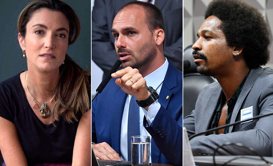 Hans River disse que jornalista 'se insinuou' para ele, versão repercutida por Eduardo Bolsonaro