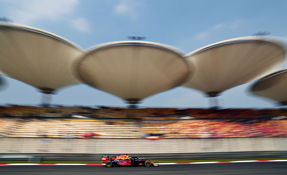 Max Verstappen durante treinos do GP da China de 2019