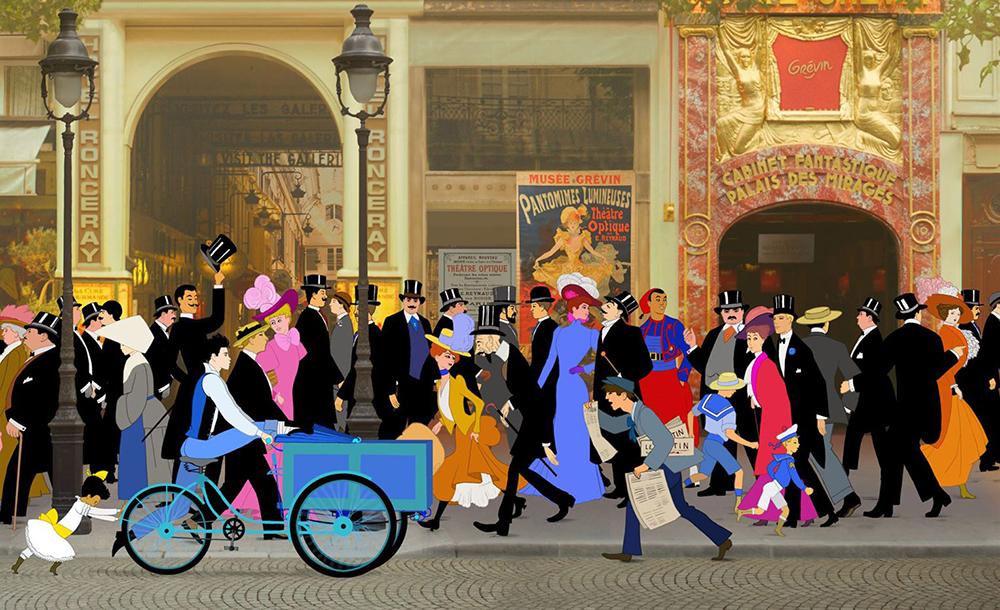Dilili em Paris é o novo longa de Michel Ocelot