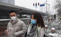 Cerca de 66 mil pessoas já foram contaminadas no território chinês (Greg Baker/AFP)