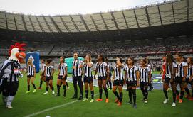 Funcionário que representava o mascote do clube está afastado (Bruno Cantini/Atlético)